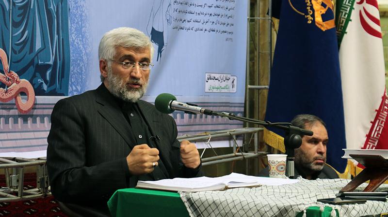 دفاع دکتر جلیلی از علما | مسجد فائق