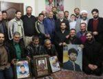 دیدار دکتر جلیلی با خانواده شهید فتحنایی و جمعی از خانواده شهدای مدافع حرم در شهر قدس