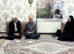 دیدار و گفتگوی دکتر جلیلی با خانواده های گرانقدر دو تن از شهدای مدافع حرم در تهران