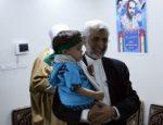 دیدار و گفتگوی دکتر جلیلی با خانواده شهید جواد کاکه جانی از رزمندگان مدافع حرم+تصاویر