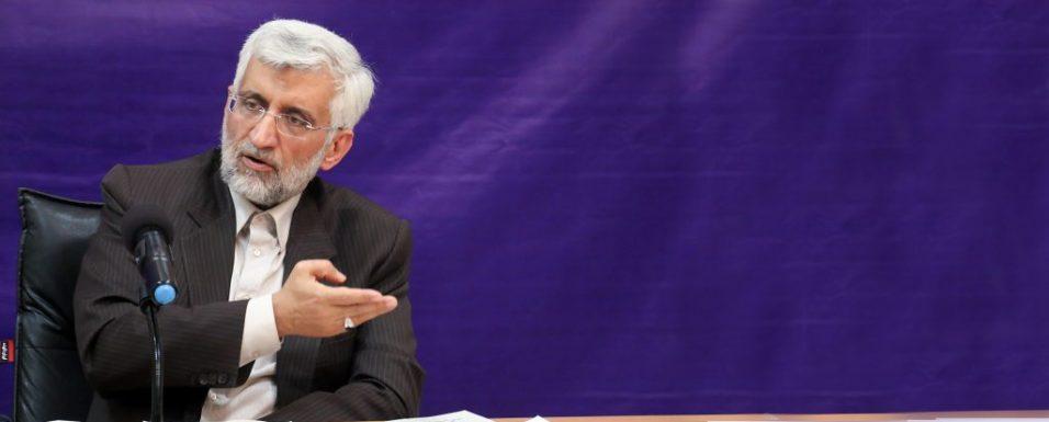 حمایت قاطع دکتر جلیلی از مواضع ضد فساد وزارت بهداشت برای مبارزه با مفاسد حوزه غذا و دارو