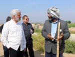 بازدید از روند اجرای طرح احیای دشتهای استان خوزستان موسوم به طرح ۵۵۰ هزار هکتاری